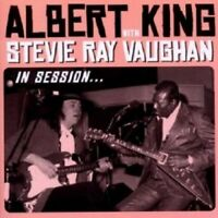 "A. KING WITH STEVIE VAUGHAN ""IN SESSION"" CD + DVD NEW+"