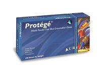*1-Pack* Supermax Aurelia Protege Nitrile PF Examination Gloves X-Small 93995