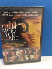TELL THEM WHO YOU ARE DVD Dennis Hopper Billy Crystal