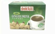 Gold Kili GINGER Instant HONEY GINGER DRINK(10 sachets) 180 Gram box