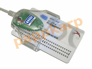 OMNIKEY 3021 USB Smart Card CAC Common Access Reader Writer 1021 eID Medical ID