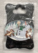 Disney Pin WDI Christmas Chip Dale Do You Wanna Build A Snowman Holiday 2018 Pin