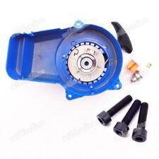 Blau Seilzugstarter Pull Starter Bolzen Für 49cc Mini Moto Pocket Dirt Bike ATV
