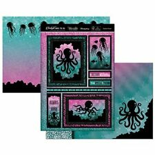 OPULENT OCEAN Under The Sea Card Making Kit Paper Crafting HUNKYDORY TSEA906 New
