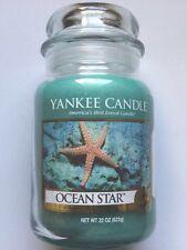 Yankee Candle OCEAN STAR 22 oz. LARGE JAR HTF RETIRED SCENT