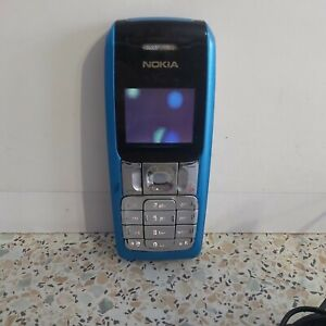 Nokia 2310 Mobile Phone With Nokia Charger Blue Working