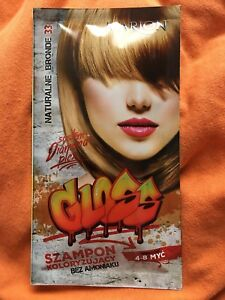 Marion ✨ Gloss Wash-Out Shampoo Dye NATURALNE BRONDE 33 + Gloves