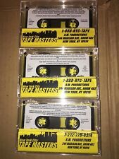 DJ CLUE? FOR PRESIDENT CLASSIC NYC MIXTAPE CASSETTE SERIES Tape # 1 2 & 3