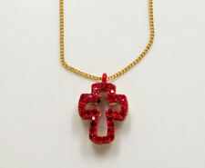 Chain Rhinestone Religious Costume Necklaces & Pendants