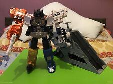 Energon Transformers Optimus Prime + Tarjeta de estadísticas y caja