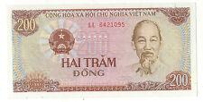 BANCONOTA BANCONOTA VIETNAM 200 HAI TRAM DONG 1987 (7)