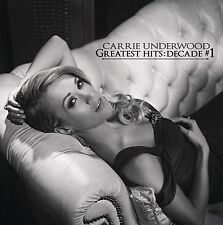 Greatest Hits: Decade #1 by Carrie Underwood (CD, Dec-2014, 2 Discs, Arista)
