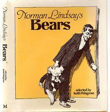 NORMAN LINDSAY'S BEARS: KEITH WINGROVE (HCDJ 1978) BILLY BLUEGUM AUSTRALIAN ART