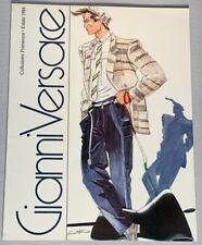Vintage GIANNI VERSACE 1984 Primavera Estate Fashion CATALOG