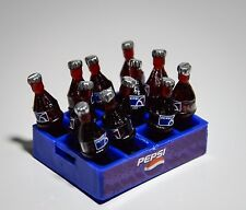 12 Dollhouse Miniatures Pepsi Cola Mini Soda Set Food Supply Home Deco