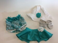 American Girl Bitty Baby Ocean Blossoms Swimsuit Outfit Retired Rare!