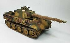 TAMIYA Panther Tank G/Late Version 1/35 Military Model Built and Painted