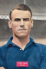 Football photo > Cyril Lello Everton 1956-57