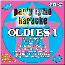 Oldies 1 -  Party Tyme Karaoke Music  CD/CD+G NEW Karaoke Machine