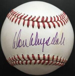 Don Drysdale Autographed National League Baseball, BAS COA