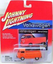 Johnny Lightning Volkswagen Series 1965 TYPE 2 PICKUP Orange VW Truck Single Cab