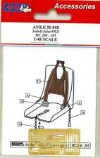 AML Models 1/48 MACCHI MC.200 & MACCHI MC.205 SEAT BELTS Photo Etch Set