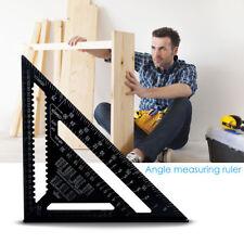 """12 """" ángulo aleación aluminio paracheurónmedir triángulo cortadamarcoángulo"""