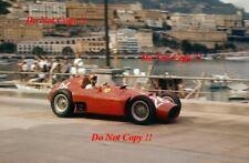 Peter Collins Lancia Ferrari D50 Grand Prix de Mónaco 1956 fotografía 2