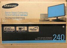 Samsung NC240 LCD Monitor - BRAND NEW IN ORIGINAL FACTORY BOX