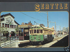 American Transport Postcard - Waterfront Trolley, Seattle, Washington   A7972