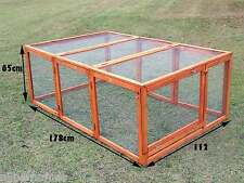 CHICKEN COOP HEN HOUSE CHOOK RABBIT GUINEA PIG G111-B , RUN ONLY