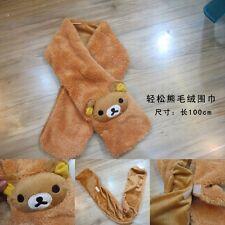 RILAKKUMA SCIARPA SCARF ORSO TEDDY BEAR TED PLUSH CAP PELUCHE PANDA COSPLAY #1