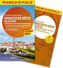 !! Kroatien Dalmatien 2014 mit Karte UNGELESEN Kroatische Küste Split Marco Polo