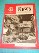 GREAT EASTERN NEWS # 84 - AUTUMN 1995