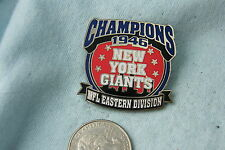 WILLABEE & WARD PIN NFL EASTERN DIVISION CHAMPIONS NEW YORK GIANTS 1946