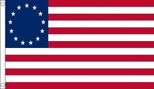 BETSY ROSS FLAG 5' x 3' USA 13 Stars America Independence 1776 US Star American