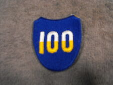 US Army 100th Airborn Div, Full color patch