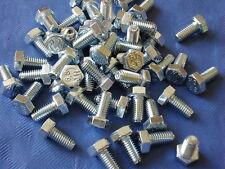 M5 x 10mm Long Hexagon Head Setscrews New Bolt Pack x 10 Free UK Postage