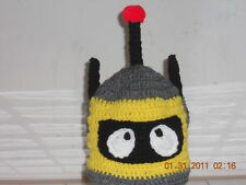 Boutique Crochet Robot Hat Character~ Any size!