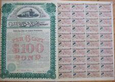 1886 SPECIMEN Bond Certificate-Cayuga Lake Park Company