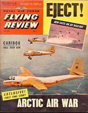 RAF FLYING REVIEW APR 62 F8U EJECTION FDR_DHC CARIBOU_KC-135_B.R.20_A2F USN_SWED