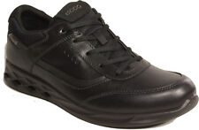 ECCO mens Shoes model RIGGER GTX Lace-ups BLACK leather NEW