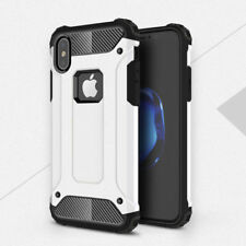 For iPhone X 8 7 Plus Hard Case Rugged Armor Shockproof Rubber Protective Cover