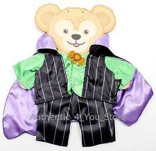 """NEW Disney Parks Duffy the Bear Vampire Halloween Costume for 17"""" Plush"""