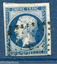 France Napoléon N°14A oblitéré Paris lettres romaines bureau B