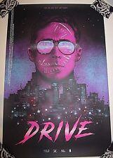 DRIVE Screen Print Poster Nikita Kaun Mondo artist Ryan Gosling VARIANT LE x/85