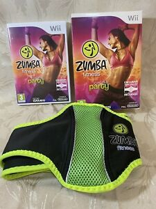Zumba Fitness - Nintendo Wii Game With Fitness Belt - Big Box Version