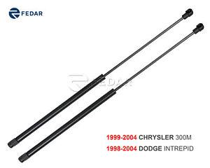 Fedar Front Hood Gas Spring Struts for 99-04 Chrysler 300M/98-04 Dodge Intrepid
