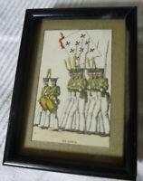 2 Anciennes cartes à jouer encadrées , Napoléon 1er