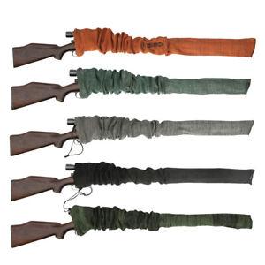 "Tourbon Shotgun Case Soft Sleeve 52"" Silicone Rifle Sock Scope Cover Lot  5 Pack"